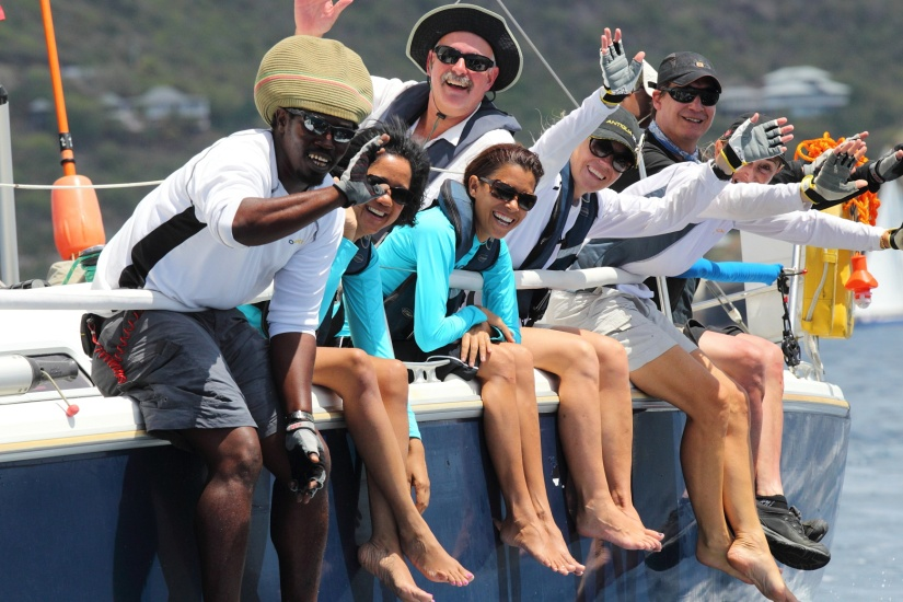 Race in the Caribbean Regattas 2015 .. just an email or phone callaway